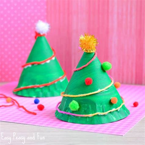 paper plate tree paper plate tree craft easy peasy and