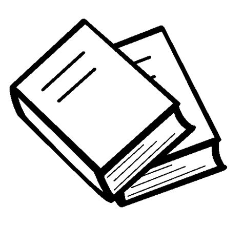 coloring pictures of books books coloring page coloringcrew