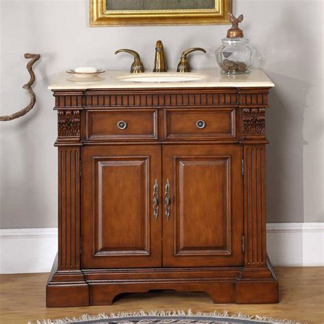 ivory ceramic kitchen sink 36 quot single sink cabinet crema marfil top undermount