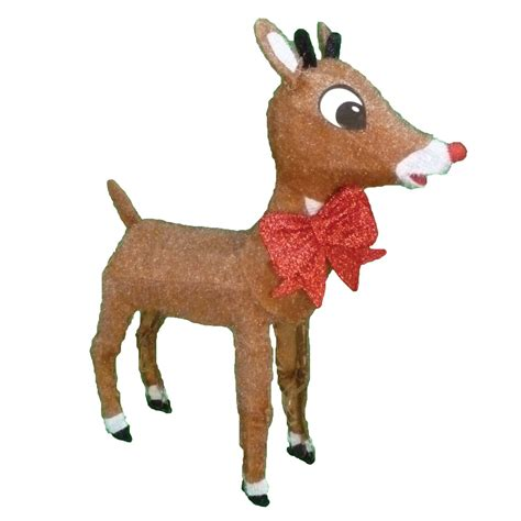 rudolph the nosed reindeer outdoor decorations rudolph the nosed reindeer lightup rudolph outdoor
