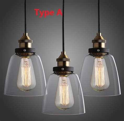 country lighting fixtures kitchen nordic vintage edison pendant l american country