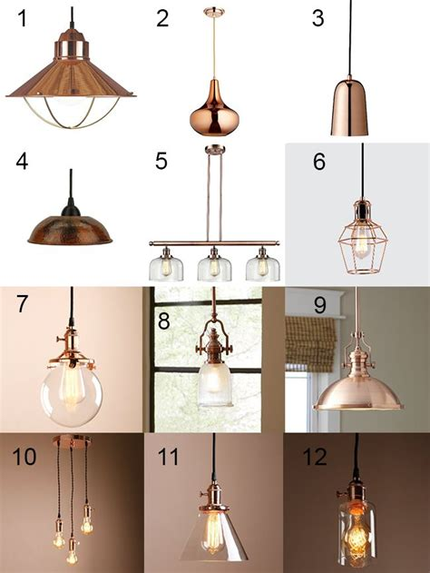 copper pendant lights kitchen 25 best ideas about copper lighting on copper