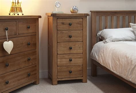 narrow bedroom furniture tilson solid rustic oak bedroom furniture narrow