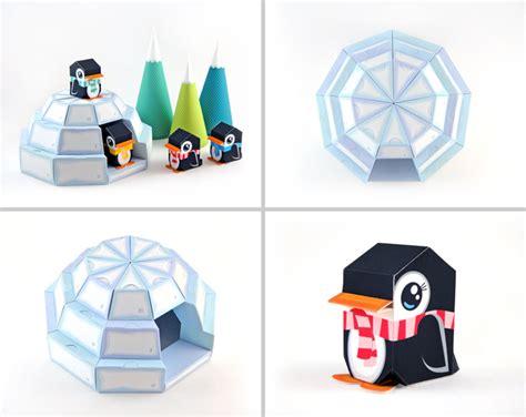 paper craft pdf igloo advent calendar printable paper craft pdf on luulla