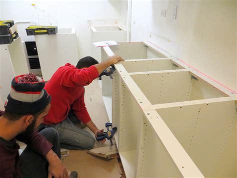 ikea kitchen sink installation kitchen reno ikea cabinets assembly and installation