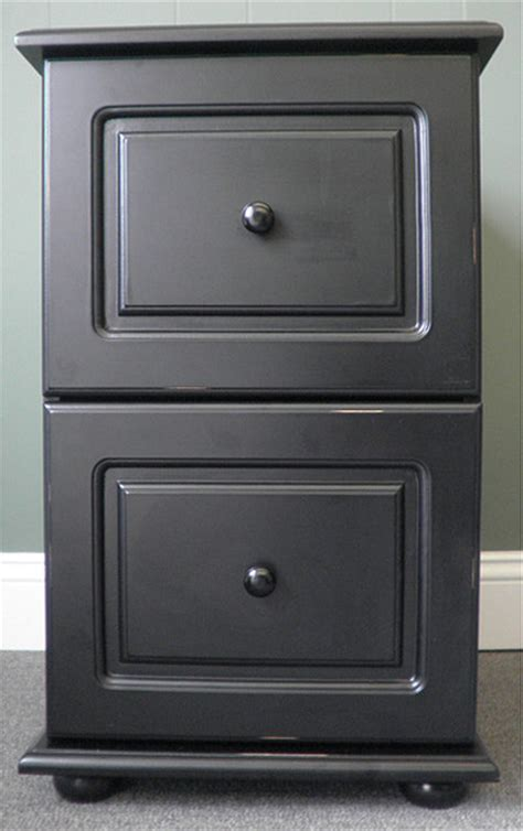 distressed wood filing cabinet black wood distressed two drawer file cabinet