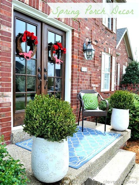 front porch decor spruce up front porch decor