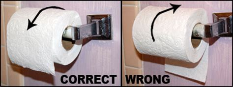 Toilet Paper Backwards by Putting Toilet Paper On The Roll Backwards Eckert Complains