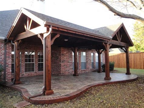 outdoor patio covers design best 25 covered patios ideas on back patio