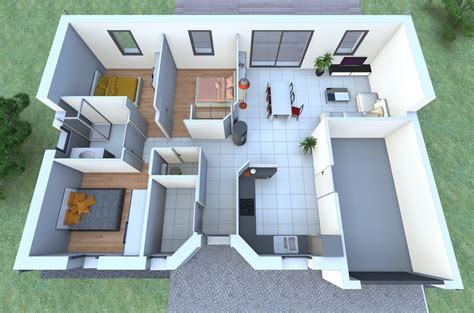 une maison de plain pied avec 3 chambres vous fait r 234 ver nous avons imagin 233 pour vous un mod 232 le