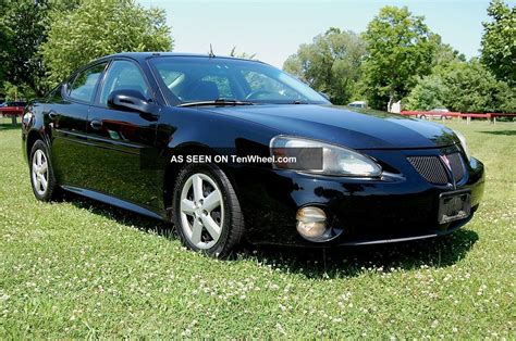 Pontiac Grand Prix Spoiler by Great Running 2005 Pontiac Grand Prix 3 8 V6 R Spoiler