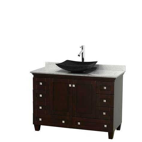 wyndham collection wcv800048sescmgs4mxx acclaim 48 inch single bathroom vanity in espresso