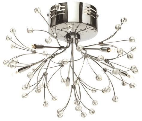 chandelier light fittings pair of modern silver chrome 5 way multi arm ceiling light