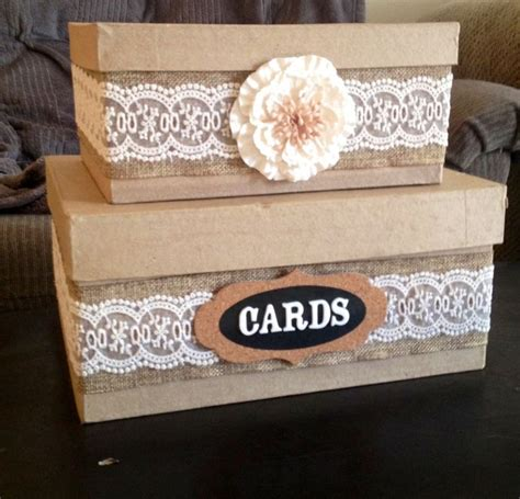 how to make gift card boxes for weddings diy country wedding card box wedding ideas