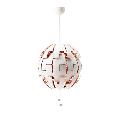 ikea kitchen pendant lights ikea ps 2014 pendant l white copper color ikea