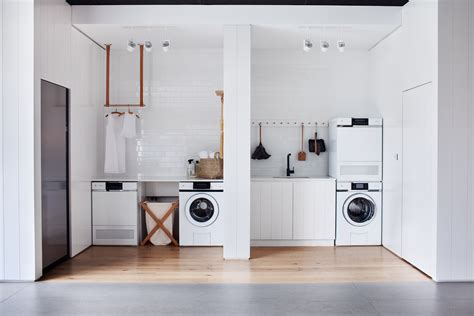 laundry australia this look all white laundry room in melbourne