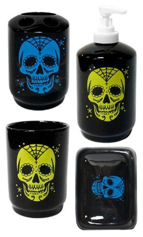skull bathroom accessories 17 best images about skull bathroom accessories and decor