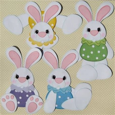 easter bunny paper crafts you to see pudgy easter bunnies on craftsy