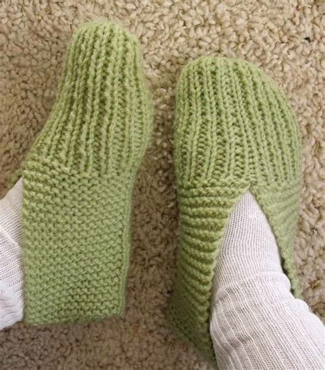 knit up how to knit slippers projects