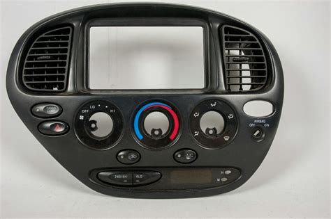 how it works cars 2003 toyota tundra instrument cluster 2000 2001 2002 2003 2004 2005 2006 toyota tundra radio climate center dash bezel