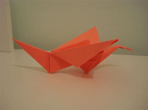 origami crane with flapping wings flapping origami crane 9