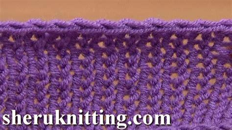 knitting with crochet hook method crochet bind in knitting tutorial 7 method 7 of 12