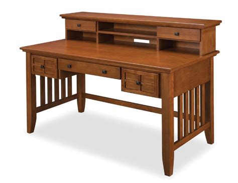 mission desk with hutch mission style desk simplicity at its best