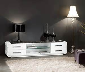 Modern Wooden TV Stand 616# (High Glossy White)   TV stands