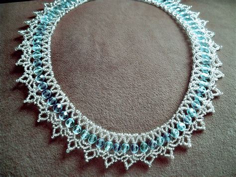 bead magic free pattern for beautiful beaded necklace tears in