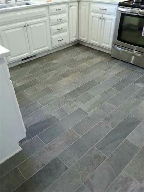 flooring ideas for kitchen ivetta black slate porcelain tile from lowes things i ve