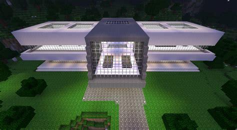 plan maison moderne minecraft