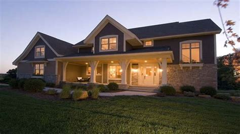 house plans with front porch one story single story craftsman house plans craftsman style house