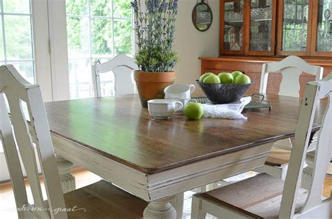 chalk paint ideas for dining table antique dining table chairs grant