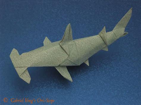 origami hammerhead shark origami hammerhead shark by fernando gilgado tutorial