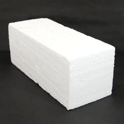 polystyrene foam styrofoam foam block 12x4 5x4 quot white eps polystyrene