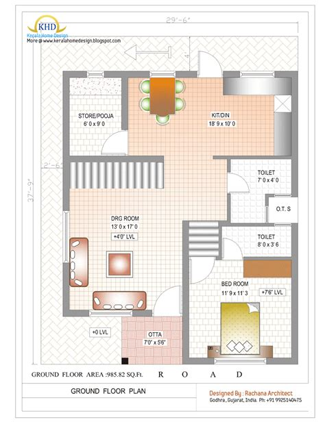 home design plans india free duplex duplex house plan and elevation 1770 sq ft indian