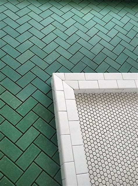 Simple Bathroom Decor Ideas 44 best color spotlight dark green tile images on