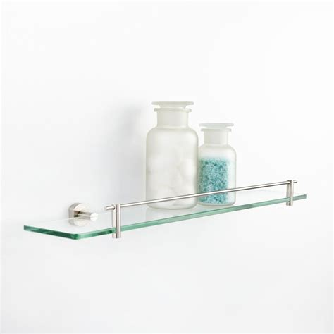 small glass bathroom shelves 17 best ideas about glass shelves for bathroom on