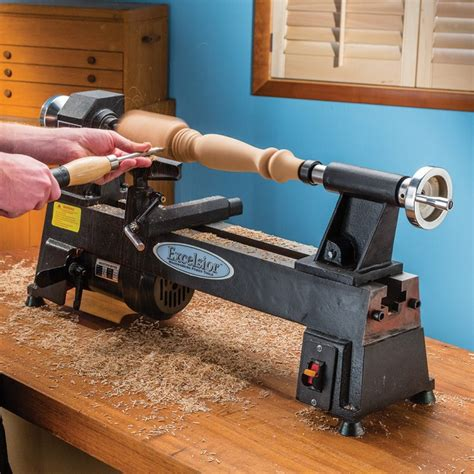 woodworking mini lathe excelsior 5 speed mini lathe mc 1018 rockler