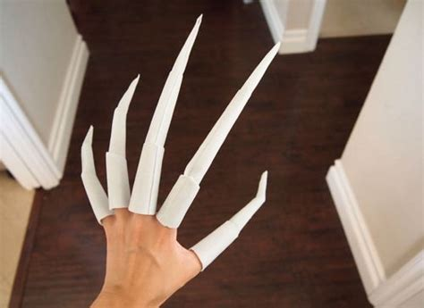 how to make origami finger claws best 25 creepy costumes ideas on scary