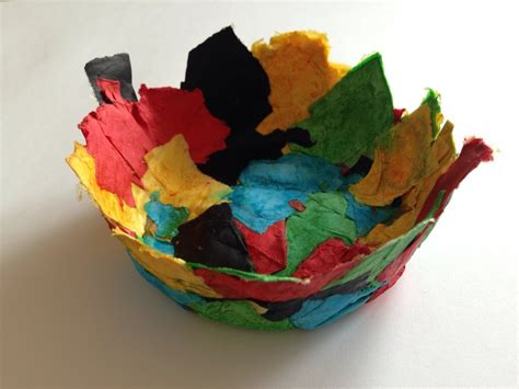 easy paper mache crafts paper m 226 ch 233 bowl easy paper mache bowl paper m 226 ch 233 for
