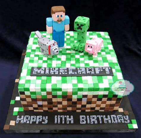 minecraft crafts for you to see minecraft cake by rosedreamcakes