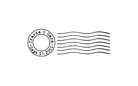 postal cancellation rubber st postmark mail custom rubber st cancellation by