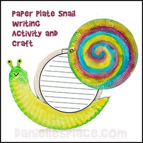 snail paper plate craft snail crafts and activities for educational snail crafts