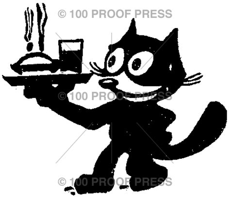 100 proof press rubber sts 570 cat serving dinner