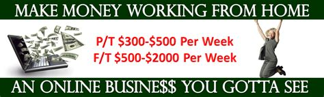 how to make lwork at home make money working from home