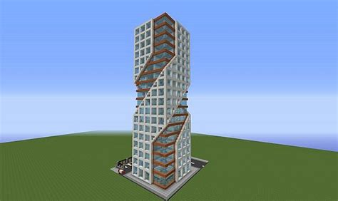 House Design Inspiration Blogs modern tower minecraft project
