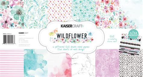 kaiser craft paper kaisercraft wildflower and pawfect