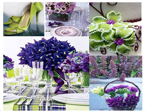 purple and green decorations wedding decoration purple and green wedding decoration