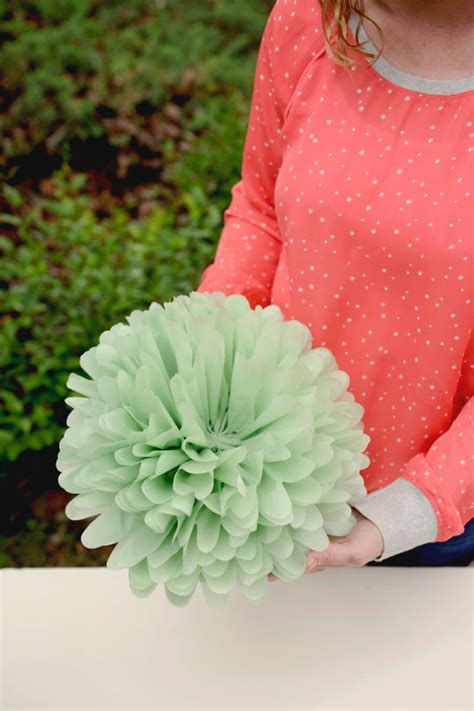 crafting paper flowers diy tissue paper flowers project nursery